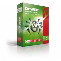 Dr. Web Security Space 1 год 1 ПК продление